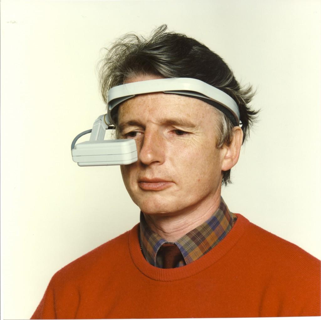 Richard wearing Private Eye